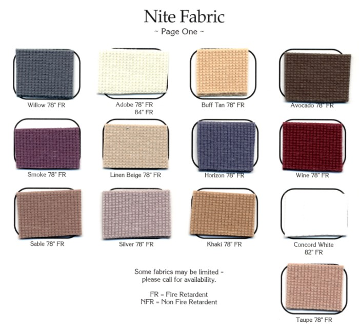Nite Fabric